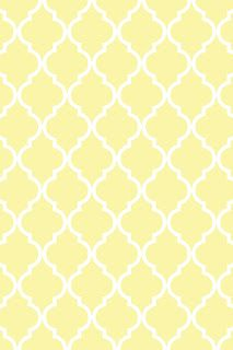 Make it...Create--Printables & Backgrounds/Wallpapers: Quatrefoil...Summery Yellows