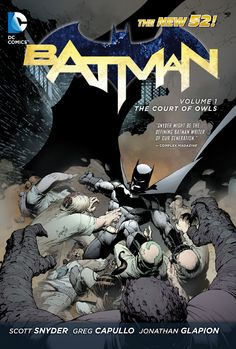 Cover for the Batman: The Court of Owls  Trade Paperback #TPB #New52