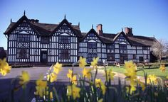 The Old Hall - another local watering hole - within stumbling distance of my house. Chester Cheshire, History Page, Old Buildings, Tudor, Distance, My House, Old Things, Spaces, Architecture