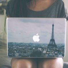 Paris MacBook Skin Cover