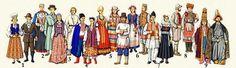 Традиционные костюмы народов великобритании