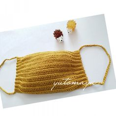 無料編み方 「かぎ針編みのマスク」   編み物屋さん[ゆとまゆ] Crochet Mask, Crochet Ripple, Crochet Faces, Cotton Crochet, Crochet Home, Love Crochet, Beautiful Crochet, Knit Crochet, Knitting Patterns