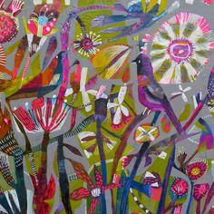Este's Blog: Paintings as Textile Designs