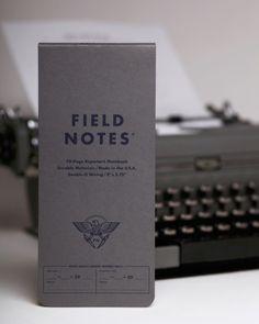 """Das FIELD NOTES BYLINE REPORTER'S NOTEBOOK gefällt mir sogar einen ticken besser als die """"normalen"""" Field Notes Notizbücher. Sieht sehr hübsch aus das Teil."""
