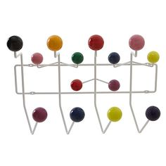 Buy Vitra Eames 'Hang it All' Wall Rack Online at johnlewis.com reduced to £169