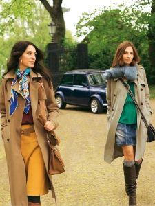 Burda Style: Damen - Mäntel - Lange Mäntel - Trenchcoat - klassisch - Koller & Riegel