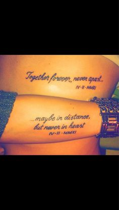 couple or family tattoo