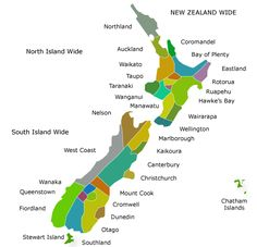 New Zealand Regions and Destinations, Tourism and Travel Regional Information New Zealand