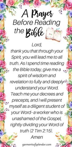 Deepen your faith with this powerful Bible study method that takes you deeper into your personal Bible study. This Bible study method is very effective! Prayer Scriptures, Bible Prayers, Faith Prayer, God Prayer, Prayer Quotes, Bible Verses Quotes, Faith Bible, Devotional Bible, Salvation Prayer