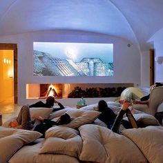 Home Theater Goals Living Room Modern, Living Room Tv, Tvs, Flooring, Rich Kids Of Instagram, Movies, Flat Screen, Farmhouse, Donuts