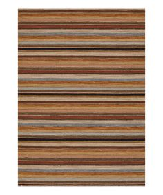 Look at this #zulilyfind! Earth Harmon Rug by Loloi Rugs #zulilyfinds