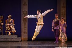 Francisco Estevez and Artists of Colorado Ballet in The Little Mermaid - by Mike Watson