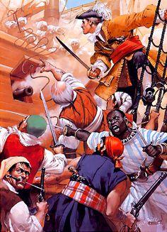 """""""Henry Every, 1694""""- La Pintura y la Guerra. Sursumkorda in memoriam"""