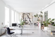aliceblue Coworking Space Wien Alice Blue, Coworking Space, Furniture, Home Decor, Homemade Home Decor, Home Furnishings, Decoration Home, Arredamento, Interior Decorating
