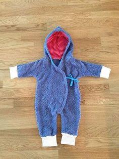 Baby Overall nähen 3