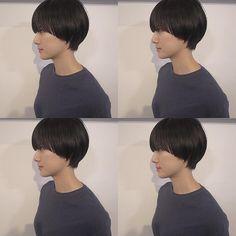 Permed Hairstyles, Cool Hairstyles, Short Hair Cuts, Short Hair Styles, Hair Arrange, Grow Out, Pixie Haircut, Hair Goals, Hair Color