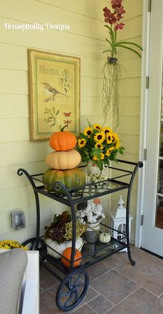 Fall Porch by shirleystankus