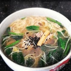 当归 chinese herb soup with noodles