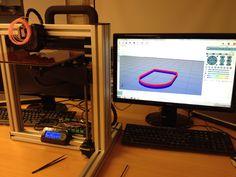 Felix 3D-tulostimen kalibrointia ja testausta kasauksen jälkeen.  #3dprint #3dprinter #3dprinting #3dtulostus #3dpirkanmaa