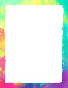 Printable paint splatter border Use the border in Microsoft Word
