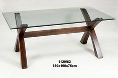Mesa de comedor pata de madera