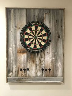 Browse photos of Basement Rec Room. Find ideas and inspiration for Basement Rec Room to add to your own home. See more ideas about Game room basement, Game room and Finished basement bars. Dartboard Backing, Dartboard Wall Protector, Dartboard Ideas, Dartboard Surround, Man Cave Diy, Man Cave Home Bar, Men Cave, Small Room Design, Family Room Design