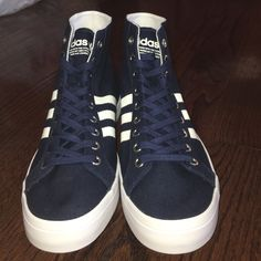 buy popular 23238 7a345 Adidas Shoes   Navy Men S Adidas Court Vantage Sneakers   Color  Blue    Size  10.5