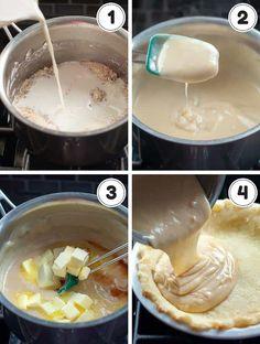 Food Photography: Sugar Cream Pie - Home Cookbook Recipes, Dessert Recipes, Pie Recipes, Sugar Cream Pie Recipe, Apple Crumb Cakes, Gluten Free Pie, Donut Glaze, Vanilla Custard, Sweet Bread