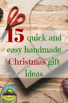 Need affordable Christmas gift ideas? We found tons of homemade gifts that are easy to make. All of these Christmas gift ideas are unique and special. Boxed Christmas Cards, Cheap Christmas Gifts, Handmade Christmas Gifts, Handmade Ornaments, Homemade Christmas, Christmas Diy, Christmas Wishes, Christmas Presents, Easy Handmade Gifts
