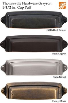 Top Knobs 2 9 16 Quot Cc Dakota Cup Pull Oil Rubbed Bronze