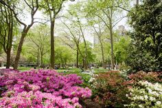 Rittenhouse Square in Philadelphia (Photo by J. Smith for GPTMC)