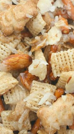 Almond Coconut Chex Mix