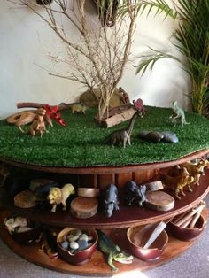 A great loose parts and imaginative play space