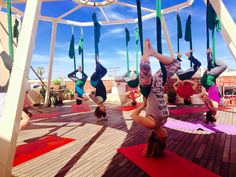 aerial yoga trilogy sanctuary la jolla rooftop