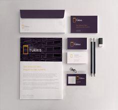 Turris Branding by Manoel Andreis Fernandes  #corporateidentity