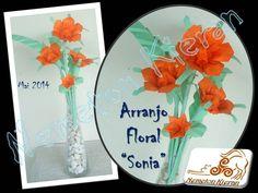 Origami, Flower Arrangements, Decorative Plates, Home Decor, Flowers, Floral Arrangements, Decoration Home, Room Decor, Origami Paper