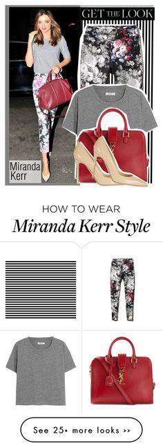 """""""Get the look 9 Miranda Kerr"""" by elvita22 on Polyvore"""