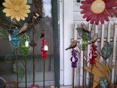 Glass Garden Accessories