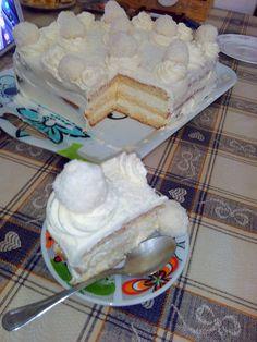 TORT RAFFAELLO   Diva in bucatarie Deserts, Dessert Recipes, Food, Sweets, Raffaello, Essen, Postres, Meals, Dessert