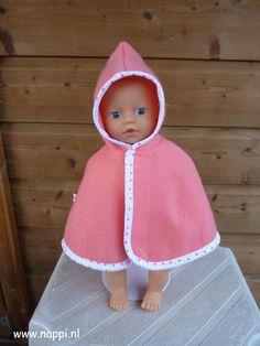 Jasjes en capes / My little Baby Born 32 cm | Nappi.nl