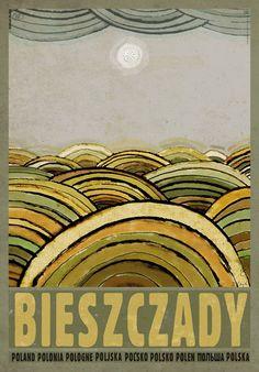 Bieszczady Mountains, Polish Promotion Poster