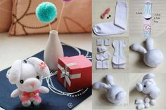 DIY-Cute-Sock-Rabbit
