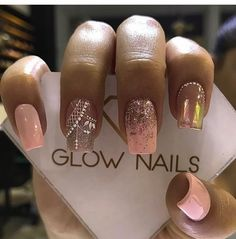 Best Acrylic Nails, Nail Decorations, Mani Pedi, Short Nails, Cilantro, Hair And Nails, Beauty Hacks, Nail Designs, Make Up