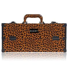 Shany Modern Pro Cosmetics Makeup Organizer Train Case