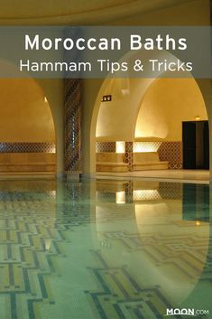 Some of the finest spas are in Morocco. With these tips and tricks, you'll be relaxing in a hammam in no time. #morocco