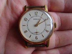 Vintage POBEDA Russian Mechanical Wrist Watch AU Gold Plated Made in USSR #POBEDA #Casual