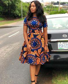 Style Inspiration: Ankara Dress, Ankara wears, African Print Dress, African Fashion, African Print F Short African Dresses, Latest African Fashion Dresses, African Print Dresses, African Print Fashion, Chitenge Dresses, Moda Afro, Style Africain, Ankara Dress, Dashiki Dress