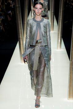 Armani Privé Spring 2015 Couture Fashion Show - Waleska Gorczevski (OUI)