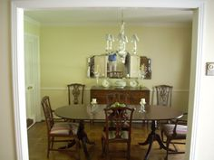 """The dining room before. """"A Ranch House Transformation"""" This home was completely remodeled without adding a single square foot and stayed on budget. @TheWillsCompany"""