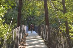 Dreamcatcher bridge at Panther Creek Park, Owensboro, Kentucky